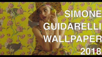 SIMONE GUIDARELLI | WALLPAPER COLLECTION 2018 | EXCLUSIVE INTERVIEW
